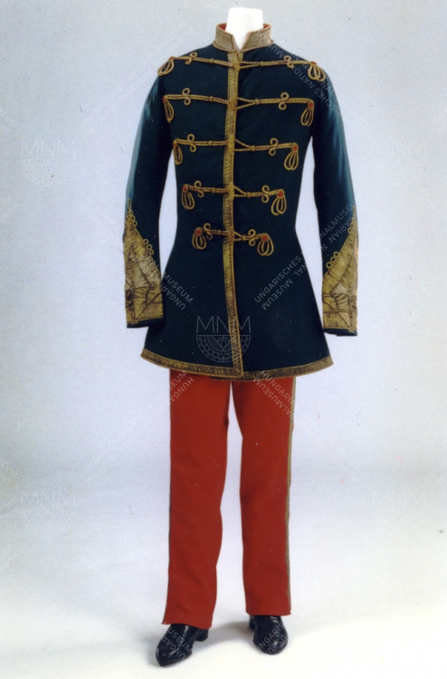 GOVERNOR-PRESIDENT'S GALA ATTIRE  ONCE BELONGING TO LAJOS KOSSUTH