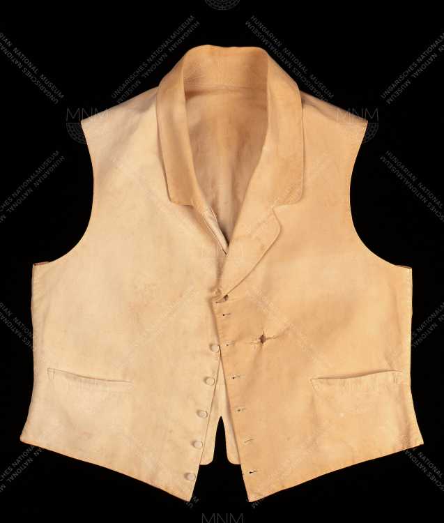 WAISTCOAT ONCE BELONGING TO COUNT LAJOS BATTHYÁNY